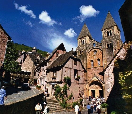 18/08 : CONQUES (Aveyron)-Abbatiale Ste Foy